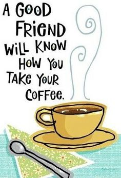 An interesting test for friendship ;) Do your friends know how you take your Melitta coffee?