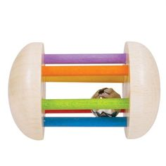 Buy Rainbow Rattle from our Rattles & Teethers range at Bigjigs Toys. Award winning toys for every step of the way. Wooden Rainbow, Bright Colors, Wooden Toys, Little Ones, Puzzle, Baby, Child Friendly, Products, Rings