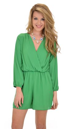 If only my legs were in shape, I would snag this one up! Lismore Romper :: NEW ARRIVALS :: The Blue Door Boutique