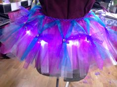 adult size lighted tutu for Glow Run Diy Clothing, Custom Clothes, Glow Run, Concert Wear, Sweet 16 Decorations, Kids Tutu, Festival Costumes, Glow Party, Rave Wear