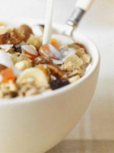 Homemade healthy granola
