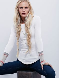 Free People We The Free Rosey Cuff, $68.00