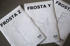 Ikea Hack - Frosta series by Andreas Bhend at Coroflot.com Frosta Ikea, Build Something, Stool, New Homes, Pdf, Ikea Hacks, Crafts, Craft Ideas, Home