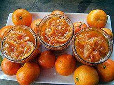 La meilleure recette de Confiture de mandarines au Grand Marnier! L'essayer, c'est l'adopter! 4.2/5 (9 votes), 2 Commentaires. Ingrédients: Confiture de mandarines au Grand Marnier, Trempage et macération : 2 journées , Cuisson : 25 mn  pour moi  le double, Il faut :, 1.5 kg de mandarines à peau fine , 1 kg de sucre , 1 litre d'eau , 1 verre de Grand Marnier ou de liqueur de mandarine,