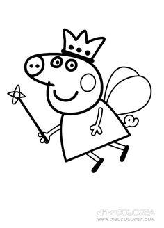 dibujos de peppa pig y sus amigos - Buscar con Google