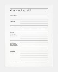 Die 46 Besten Bilder Von Creative Brief Creative Brief Template