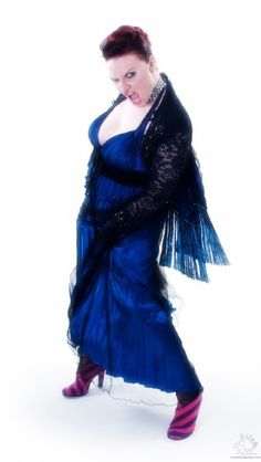 Photo by Max Ellis Blue Dress