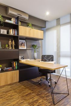 Small Home Offices, Home Office Space, Home Office Decor, Office Furniture, Home Decor, Small Office Design, Office Interior Design, Office Interiors, Modern Kitchen Design