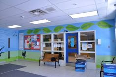 Phase 2 school Mural - Paint A Lifestyle - Cindy Scaife Murals. School Hall, School Murals, Lunch Room, Painted Boards, School Decorations, Phase 2, Media Center, Future Classroom, School Design