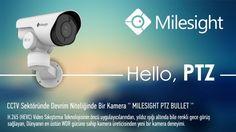 Ip Kamera Kurulumu Ankara 0312 205 11 11: Milesight PTZ Bullet Kamera 0312 205 1111