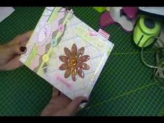 SCRAPBOOKING: TUTORIAL ÁLBUM CAPA DURA SANFONADO FINAL