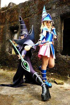 Yu-Gi-Oh Dark Magician Cosplay