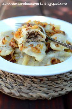 Kuchnia szeroko otwarta: Pierogi z kaszą gryczaną i białym serem