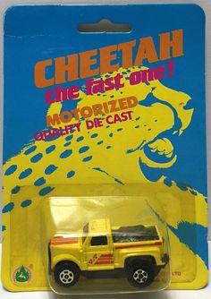 (TAS034298) - Summer Metal Cheetah Fast One! Motorized Die-Cast - Yellow Truck