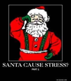 Does Santa Cause Stress???