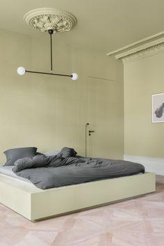 Note Design Studio celebrates pastel tones in revamped apartment