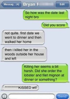 First dates are killer. | 35 Of The Most Concerning Autocorrect Fails Of All Time