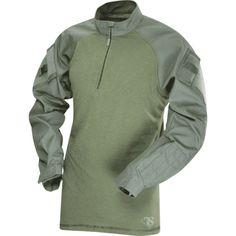 TRU-SPEC Tactical Response Uniform (TRU) 1/4 Zip Combat Shirt - Poly/Cotton - OPSGEAR®