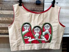 Fabric Painting On Clothes, Dress Painting, T Shirt Painting, Painted Clothes, Mural Painting, Art Paintings, Blouse Back Neck Designs, New Saree Blouse Designs, Dress Designs
