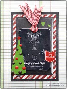 Happy Holidays by Jullis at @studio_calico