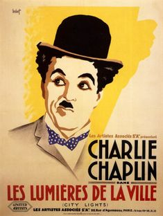 Charlie Chaplin Movie Reproduction Posters, UK Book Megastore THE place for rare movie posters Cool Posters, Film Posters, Cinema Posters, Vintage Movies, Vintage Posters, Retro Posters, Vintage Images, Charlie Chaplin City Lights, City Lights 1931