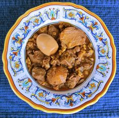 Cholent or hamim - can be made without the meat. We make dumplings on top instead.