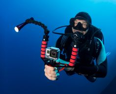 """They are wonderful products that make handling the #GoPro so much better in every way.""   - Stephen Frink, Publisher, Alert Diver Magazine (on Ikelite's line of GoPro Accessories)  #AlertDiver #DAN #Ikelite"