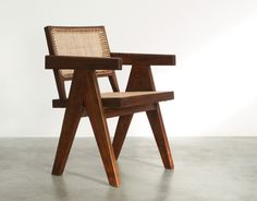 Pierre Jeanneret Armchair Chandigarh India 1955 | 20th century Modern online gallery. Featuring a large and varied selection of quality vintage pieces | Shipping worldwide | http://www.furniture-love.com/furniture/