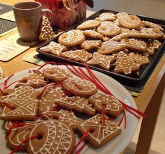 Handmade by Hanki: Pernicky - Gingerbread...a little more inspiration