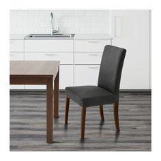 HENRIKSDAL Chair - Dansbo dark grey, - - IKEA