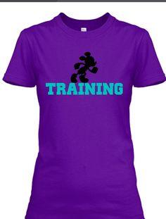 In Training (Teal) | Disney Inspired Custom Tee Shirt Store