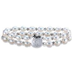 18cm/20cm Noble Genuine Pearl Bracelet Statement Accessories Pearl Jewelry Bracelets For Women Double Bracelets New Design