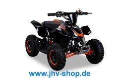 Quad, Buggy, Bikes, Trikes,Kinderquadbahn,  Eventartikel und mehr - Kinder Miniquad Highper Racer 49 cc 15 mm Vergaser - Easy Pull Start - Tuning Kupplung