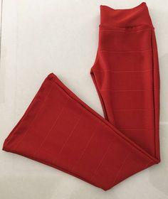 Calça Flare Bandage Cintura Alta e Alta Compressão Fabricação Própria - 15462645…