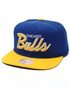 8b4988e984603 Mitchell & Ness - Chicago Bulls Special Script 2 Tone Snapback Cap