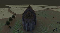 The Animation Church Saint Nicholas Namesti Svobody Brno Czech Moravia reconstruction model Digital graphic design History Art History Computer St Nicholas Church, Saint Nicholas, 3d Visualization, 3d Animation, Archaeology, Art History, Renaissance, Saints, Louvre