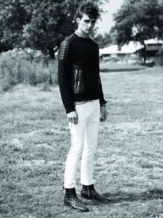Karim Sadli for Balmain Homme Spring/Summer 2014