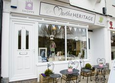 Martha Heritage is named after Anna's grandmother and the perfect name for a shop with vintage and heritage home decoration. It's in SHEFFIELD in Yorkshire. Annie Sloan Stockists, Lovely Shop, Shop Fronts, Chalk Paint Furniture, Vintage Roses, Sheffield, Erika, Yorkshire, Adoption