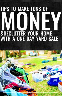 Venus Trapped in Mars // Lifestyle + Sports Blog // Dallas: How to Have A Successful Yard Sale