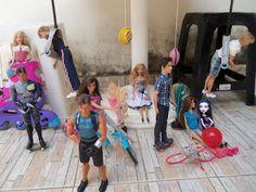 Stars Of Barbie: Vamos praticar esportes!