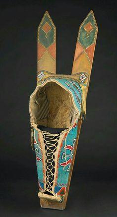 Comanche cradleboard held at the Birmingham Museum of Art