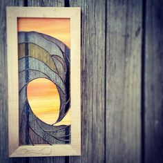 Stained Glass Wave Panel by OCEANSOMIND on Etsy, $275.00
