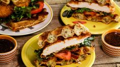Spicy Chicken and Cheddar Waffle Sandwiches is one recipe you must make before you die! #Whatsfordinner