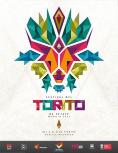 Festival del Torito Morelia 2013 by Tania Toledo, via Behance