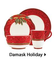 Fitz and Floyd I Damask Holiday