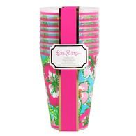 Lilly Pulitzer® - Tumbler Set of 8 - Big Flirt