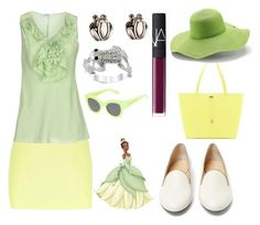 """""""Tiana- The Princess and the Frog"""" by ch3rrycakepie ❤ liked on Polyvore"""