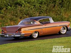 '58 Impala, you either love them or hate them.  I love them.   MT