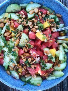 Frisk, Cobb Salad, Mango, Mexican, Ethnic Recipes, Food, Basil, Manga, Essen