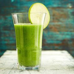 Apples, zucchini, and broccoli pack this veggie smoothie with nutrients, while lime sherbet gives it a creamy consistency: http://www.bhg.com/recipes/drinks/smoothies/vegetable-smoothie-recipes/?socsrc=bhgpin012013creamygreensmoothiespage=11